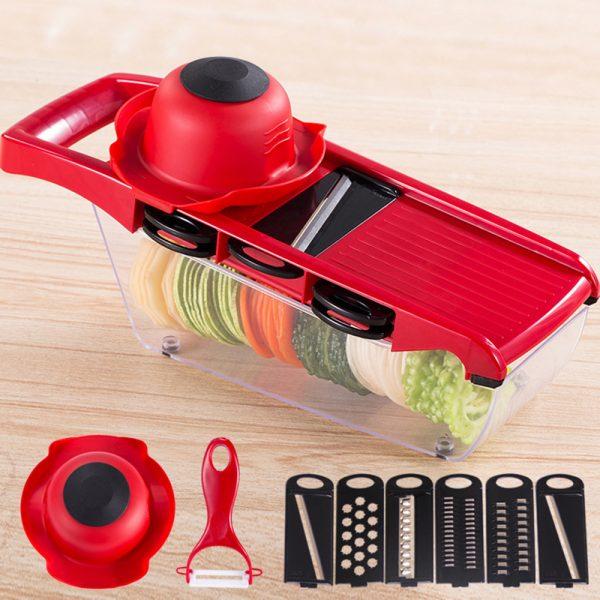 Coupe Légumes Multifonctions 6 en 1
