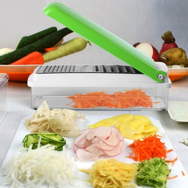 Mandoline 12 en 1 pour Fruits et Légumes